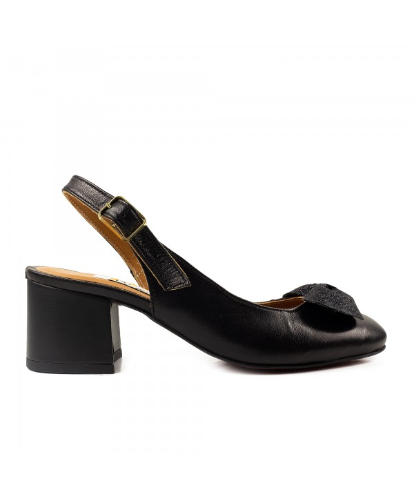 Pantofi decupati negri 1920