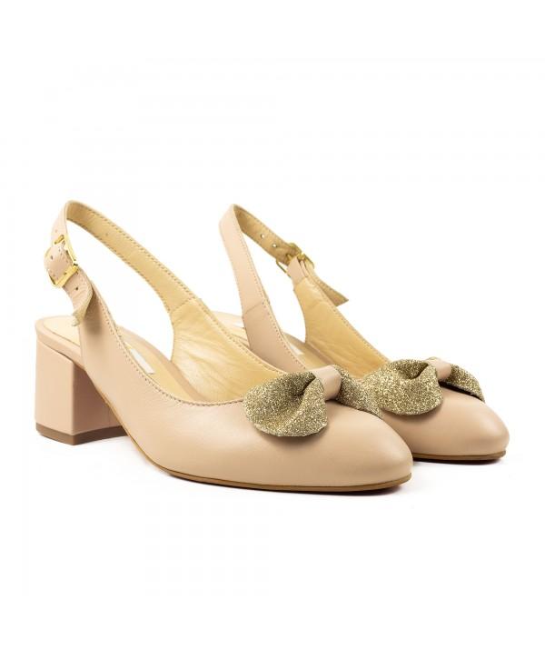 Pantofi decupati nude 1920