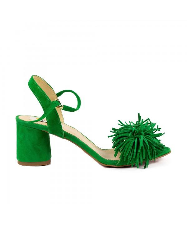 Sandale elegante verzi 1928