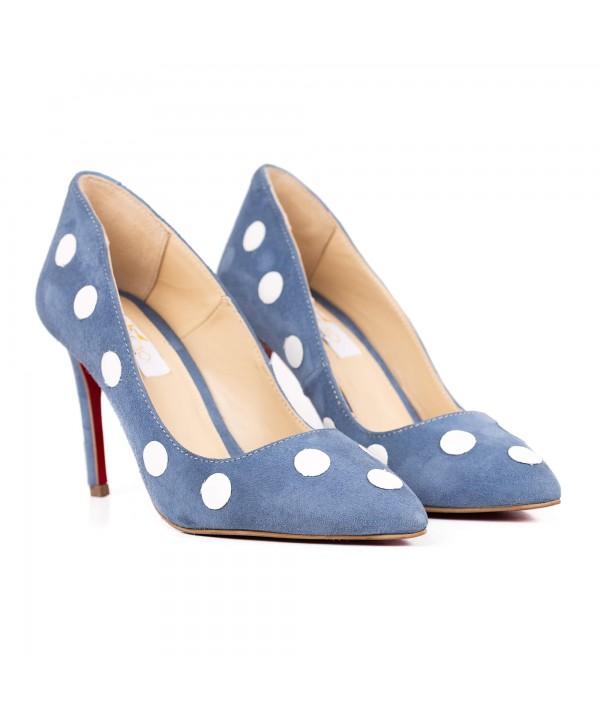 Pantofi eleganti albastru deschis 2005