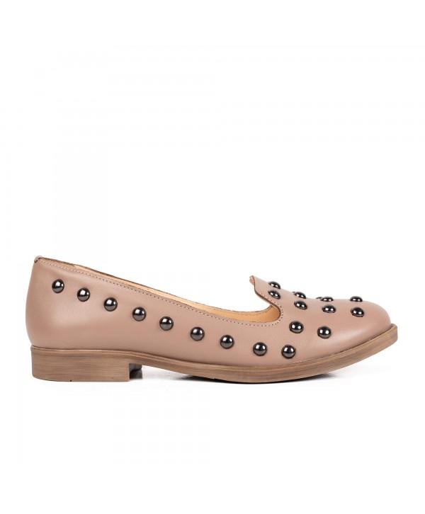 Pantofi comozi taupe 2006