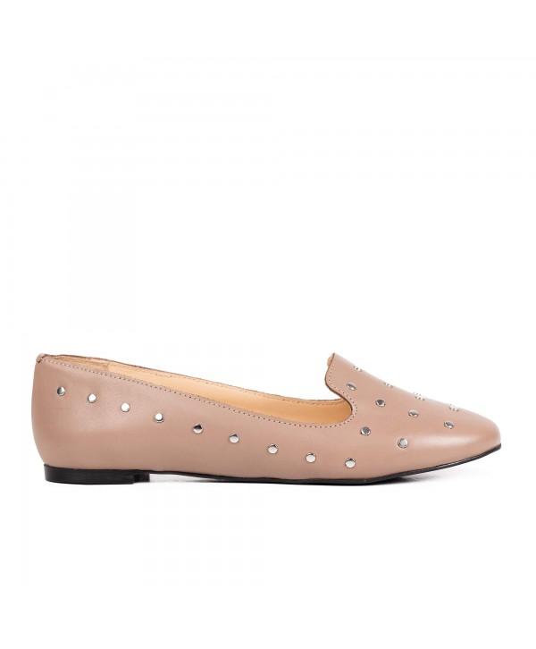 Pantofi comozi taupe 2007