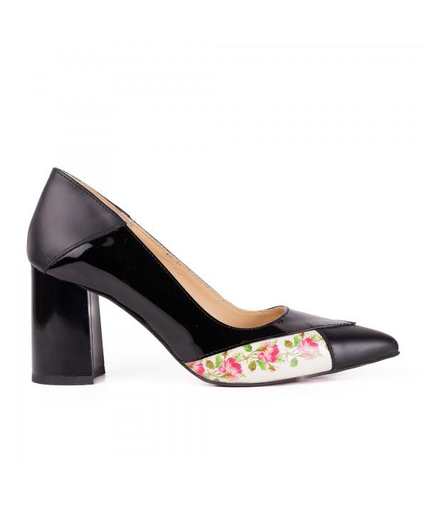 Pantofi eleganti negri 2015