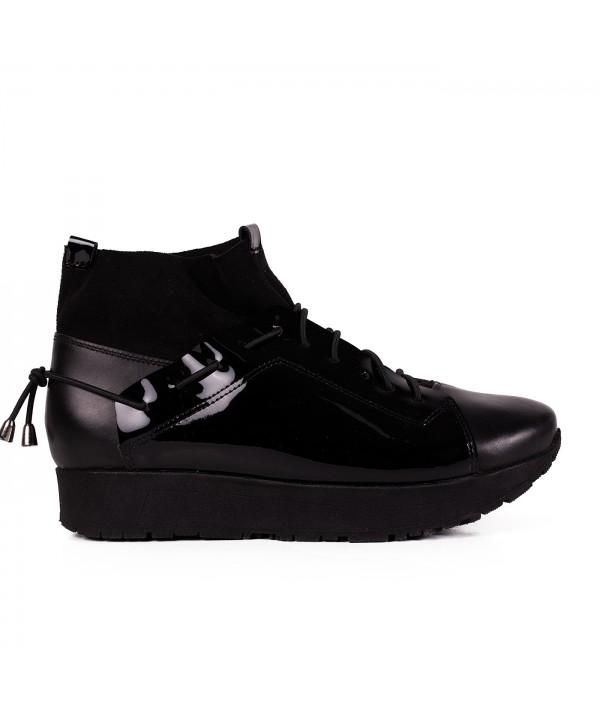 Botine sneakers negre 2029