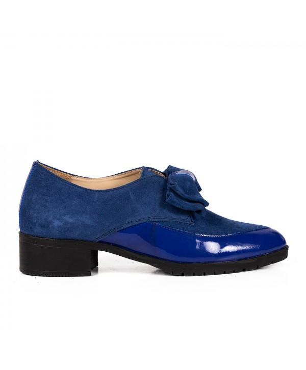 Pantofi eleganti albastri 2030