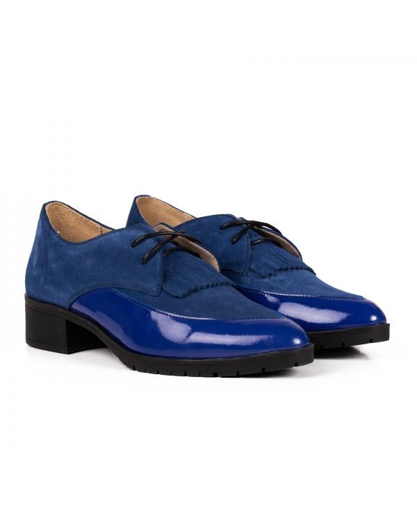 Pantofi eleganti albastri 2031
