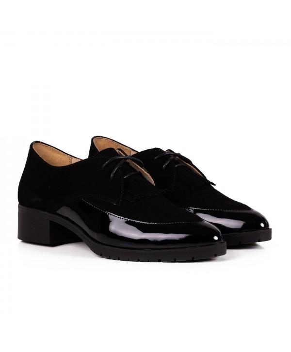 Pantofi eleganti negri 2031