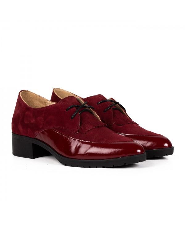 Pantofi eleganti visinii 2031