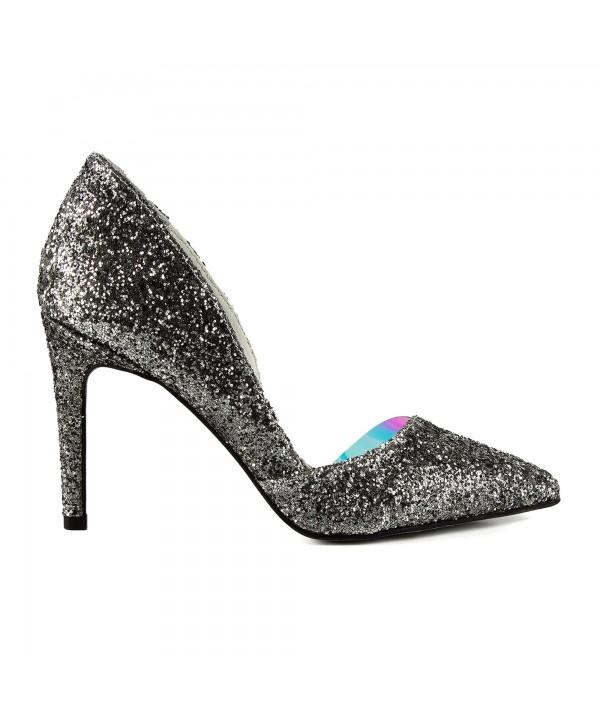 Pantofi eleganti gliter 1718-S