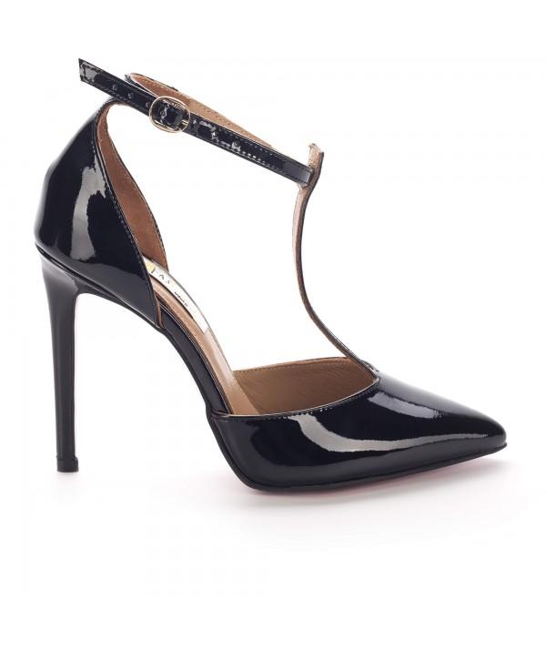 Pantofi eleganti negri 3003