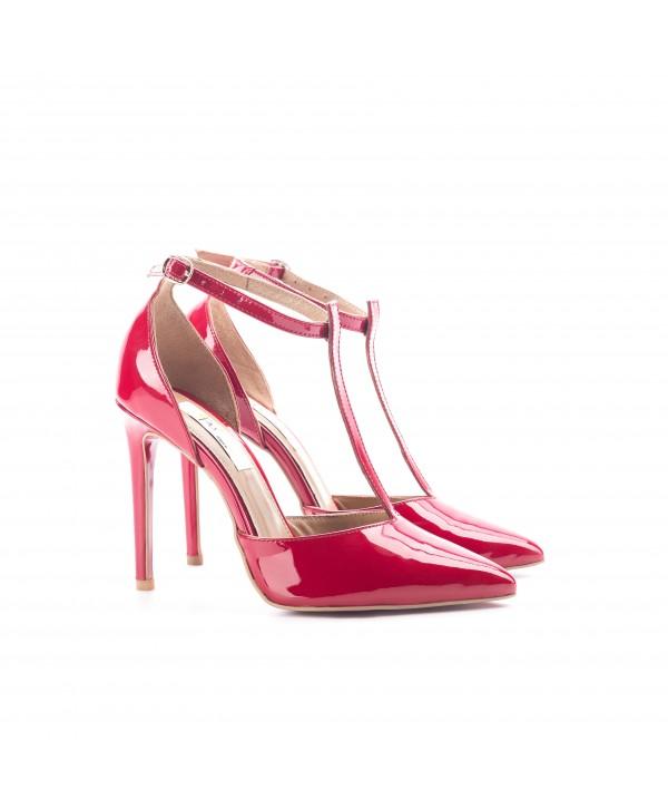 Pantofi eleganti rosii 3003