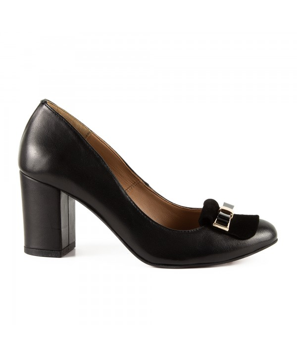 Pantofi eleganti negri 1703