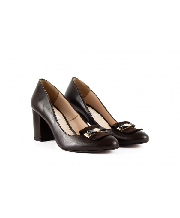 Pantofi eleganti bordeaux 1703