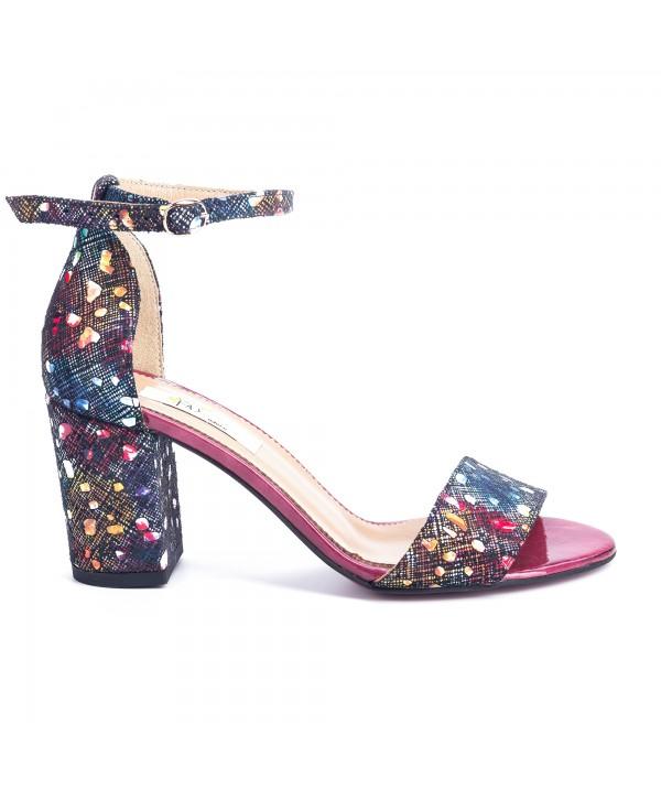 Sandale comode multicolore 1614b