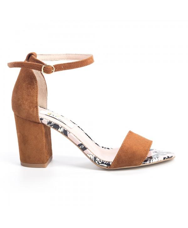 Sandale comode maro 1614b