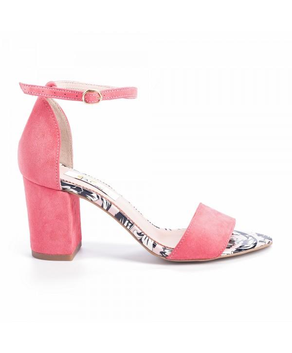 Sandale comode roz 1614b
